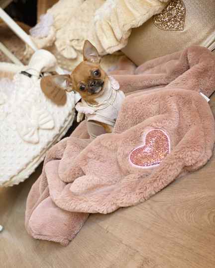 My Hearts Blanket - Old Pink
