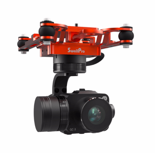 Camera GC3 for SplashDrone 3+ met 3-assige gimbal