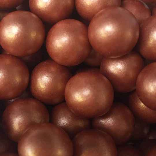 Choco pearls copper large