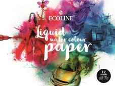 Talens Ecoline Liquid water colour paper - 12 vellen
