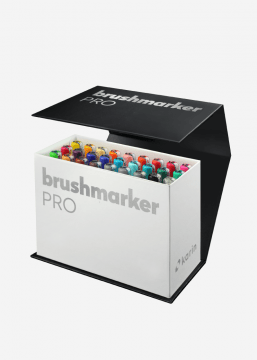 Karin Brushmarker PRO  MINI BOX 26 Colours + blender - set van 27