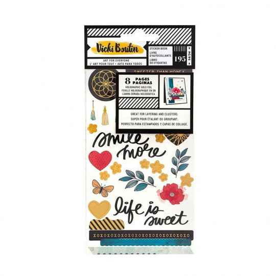 Wildflower and Honey By Vicky Boutin - American Crafts - Stickerbook