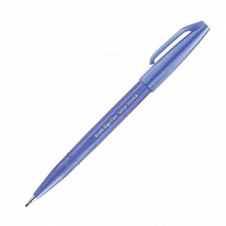 Pentel Brush Sign Pen - Blue Violet