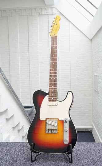 2011 Fender / Squire Telecaster Highly modified with Joe Barden pickups !