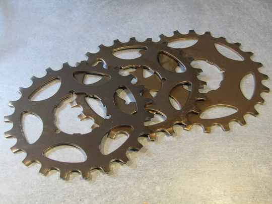 SHIMANO EXAGE UNIGLIDE CASSETTE COGS 3X NOS! BX04 023 - 8/11/20 RK10