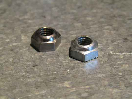 CAMPAGNOLO NUOVO RECORD clamp-on Front derailleur clamping bolt NUTs 2X NOS! TL03 03-B01-C05-01 7/6/21