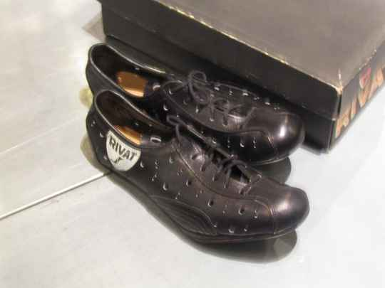 RIVAT 57/1 GIRO 100% LEATHER OLD SCHOOL cycling shoes size 39 NOS! BX44* 55 - 10/6/19 RK10