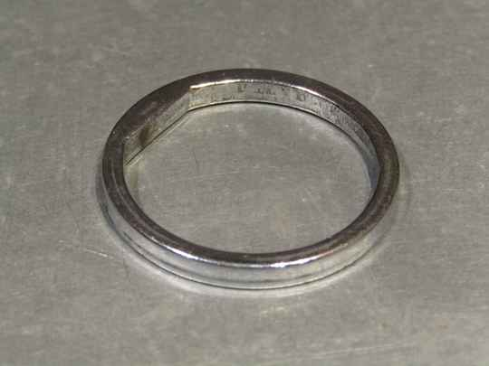 CAMPAGNOLO Type 3mm chrome steel FRENCH size washer NOS! BB21 7771 - 10/20/20 RK02