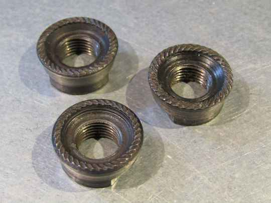 CAMPAGNOLO NUOVO RECORD REAR AXLE LOCK-NUTS MIXED BAG 3X NOS! BB33A 310 - 5/17/20 RK05