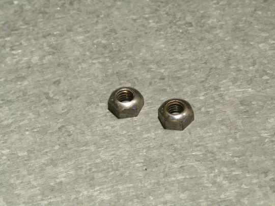 CAMPAGNOLO NUOVO RECORD Brake block holder nuts 2X 2nd hand TL08 01-B02-C01-01 10/8/21