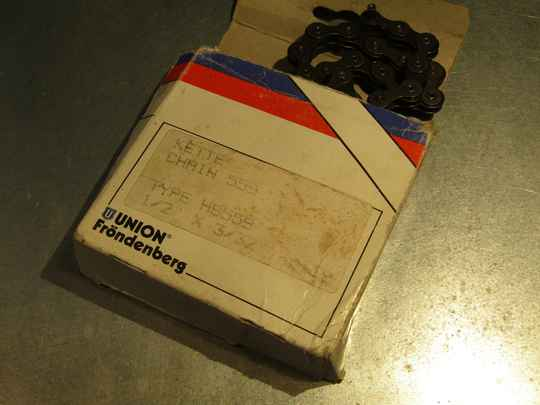UNION Frondenberg 5/6sp ROAD chain 1/2 X 3/32 - 116 links NOS! BX47A 5552 - 10/9/20 RK11
