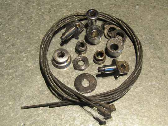 CAMPAGNOLO Other MIX-BAG Brake spares 2nd hand/NOS BX56 9000 - 7/13/21 RK11