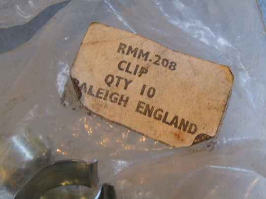 RALEIGH ENGLAND vintage 60's/70's RMM.208 Cable housing clip NOS! BXC00L22 59 - 3/11/20 RK12