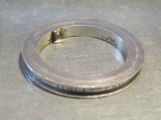CAMPAGNOLO SUPER RECORD Headset ALLOY keyed washer 2nd hand Beta04 D03-001-02A 4/9/21