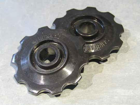 SHIMANO Vintage 80's derailleur pulley set, wheels only 2X NOS! BX19A 5554 - 10/18/20 RK01
