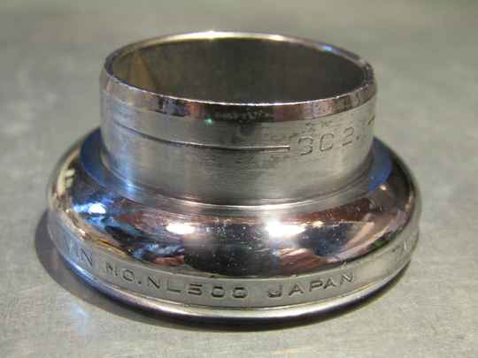 TANGE LEVIN NJS Headset lower fixed cup bearing race 30.2 NOS! Beta04 D02-001-01 4/8/21