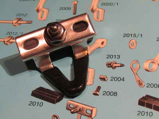 CAMPAGNOLO SUPER RECORD Brake block holder with pad NOS! Beta02 D2-001-02 26/2/21