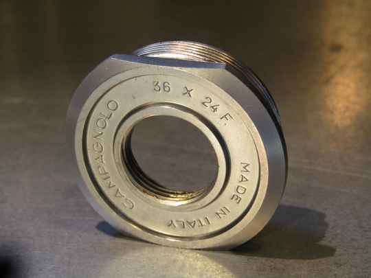 CAMPAGNOLO NUOVO RECORD FRENCH Thread 35XP1 THICK Bottom bracket fixed cup NOS! TL06 02-B01-C02-02C 5/22/21