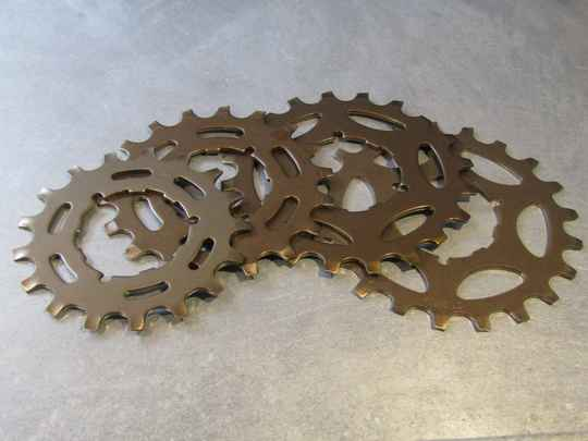SHIMANO EXAGE UNIGLIDE CASSETTE COGS 4X NOS! BX01 008 - 7/31/20 RK10