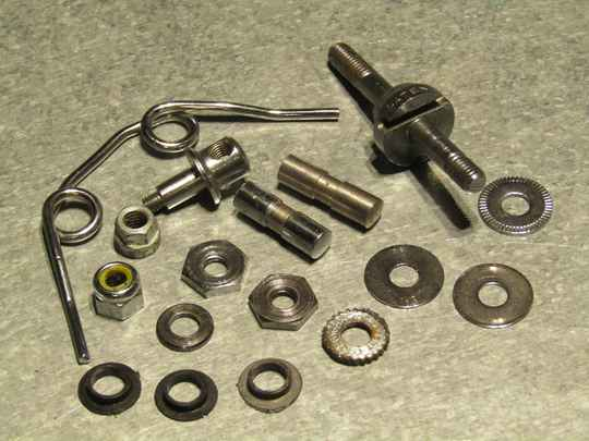 CAMPAGNOLO NUOVO RECORD Brake spares GRAB BAG 17p 2nd hand TO08 01-B02-002-01 10/9/21