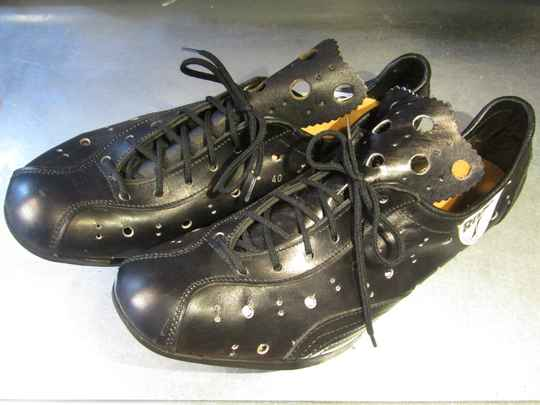 RIVAT ALL LEATHER cycling shoes  size 40 NOS! BX32 4441 - 12/10/20 RK12