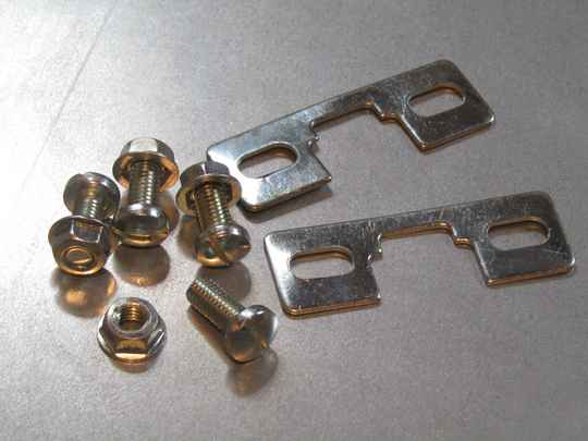 REG toe - clip mounting hardware NOS! BX72A* 13 - 10/9/19 RK12