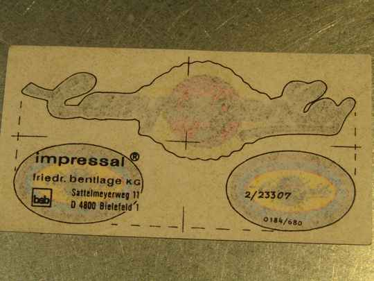 CAMPAGNOLO TRANSFERS ( RUB-ON TYPE ) 3 total NOS! BX13 01 - 4/17/20 RK13