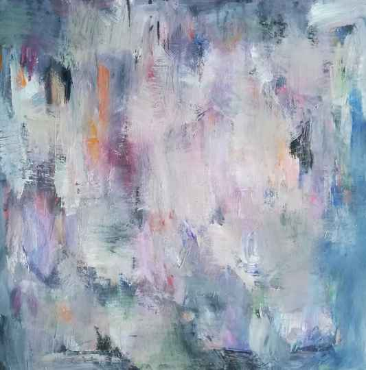 Abstract painting 50x50 cm