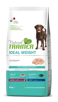 NATURAL TRAINER WEIGHT CARE MEDIUM WITVLEES 12 KG