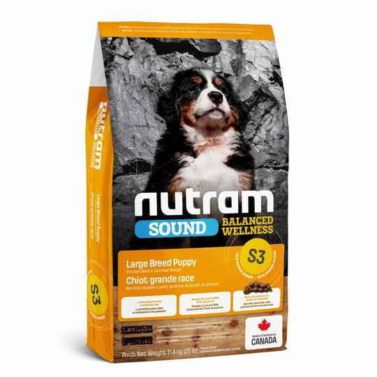 Large Puppy S3 Nutram