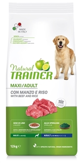 NATURAL TRAINER DOG ADULT MAXI BEEF / RICE 12 KG