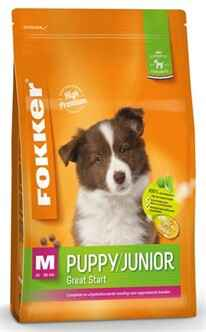 FOKKER PUPPY / JUNIOR MEDIUM 10-30 KG 13 KG