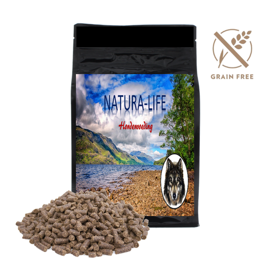 NATURA - LIFE Graanvrij  Super Premium Excellent Puppy/Junior Chicken & Potatoes