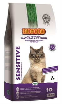 BIOFOOD PREMIUM QUALITY KAT SENSITIVE COAT / STOMACH 10 KG +