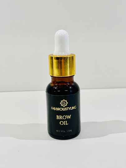 FAB Brow Oil - Vitamine E & Castor oil