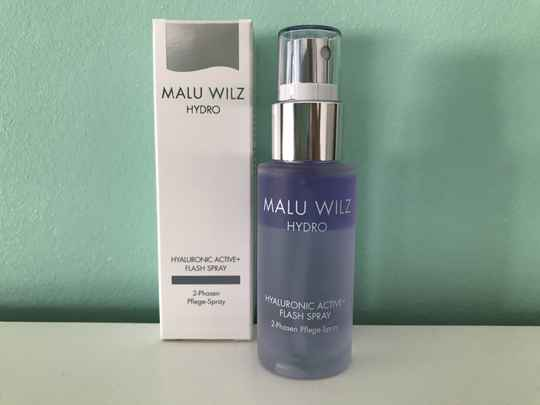 Hyaluronic active flash spray