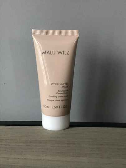 Limited edition white coffee masker