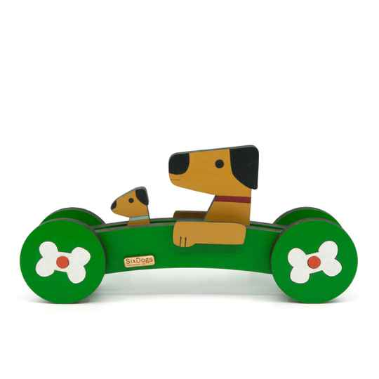 XL Dogs First-Car Gepersonaliseerd Groen