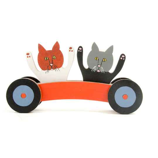 Joking Cats-Car Gepersonaliseerd