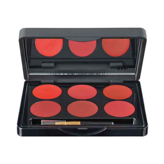 Lipcolor Palette Off Red