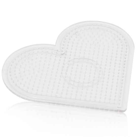CP03 - 2.6mm Clear Small Heart Pegboard