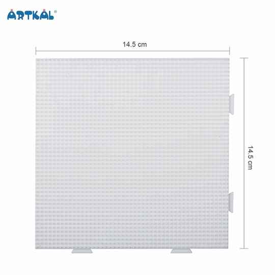 Artkal BCP04 - 2.6mm White Large Square Pegboard