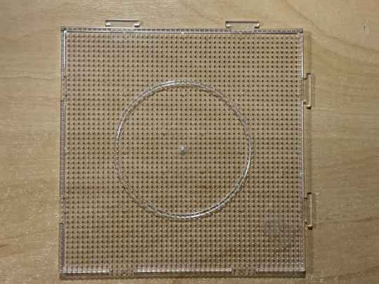 MRCpegb Square 2,6mm 50x50 clear