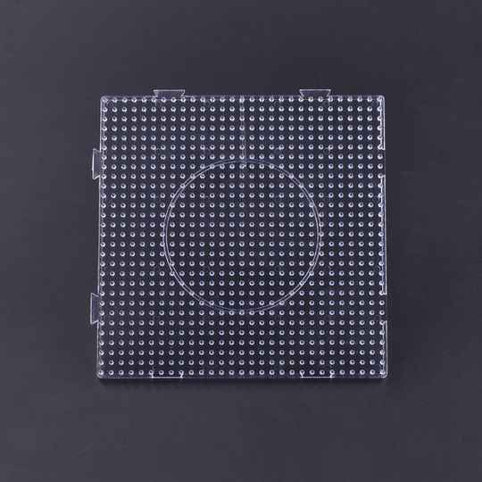 Artkal BP01 - 5mm Clear Large Square Pegboard