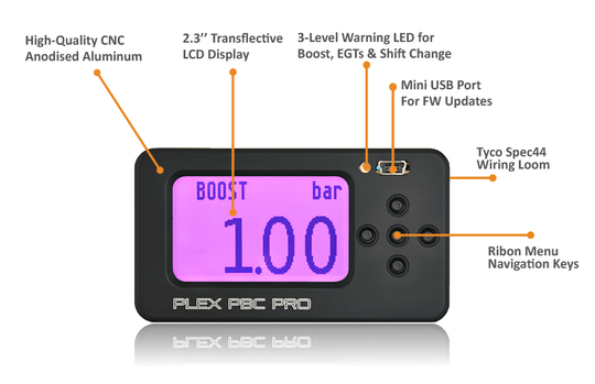 PlexTuning Boostcontroller PBC Pro with OBD and EGT