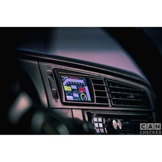 """CANchecked 2.8"""" Display VW Golf Mk3"""