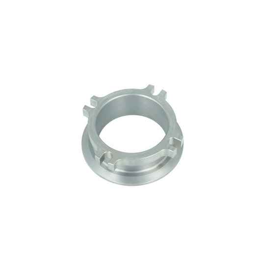 Downpipe Flange 4-Bolt 63,5mm to V-Band 76mm