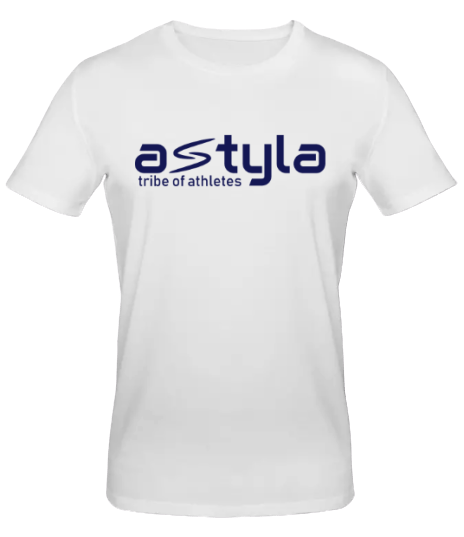 Astyla Logo Bio-cotton T-shirt White