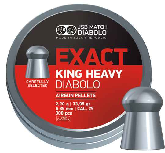 Diabolo Exact King Heavy .25
