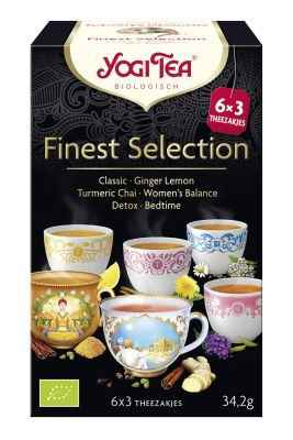 yogi tea finest selection 18st